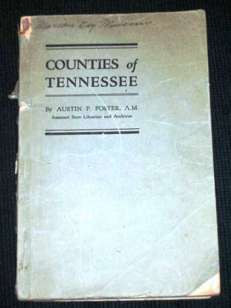 Counties of Tennessee, Foster, Austin P.