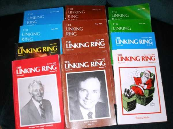 Linking Ring, The (12 Issues - Jan - Dec, 1984), Bamman,Howard