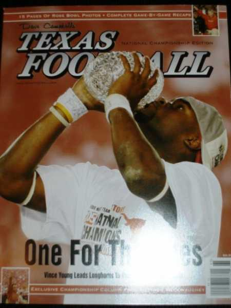 Dave Campbell's Texas Football - National Championship Edition 2005 (One For the Ages), N/A