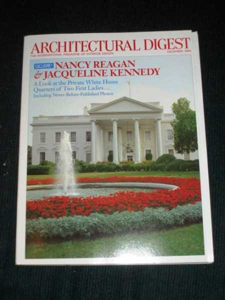 Architectural Digest Magazine - December 2004, Various