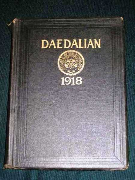 Daedalian 1918 Yearbook - Vol IX - College of Industrial Arts, Denton, TX, N/A