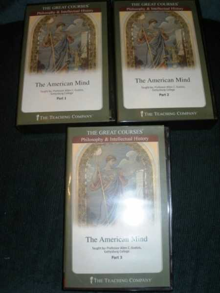 American Mind, The - The Great Courses: Philosophy & Intellectual History (Audio CDs), Guelzo, Alan C.