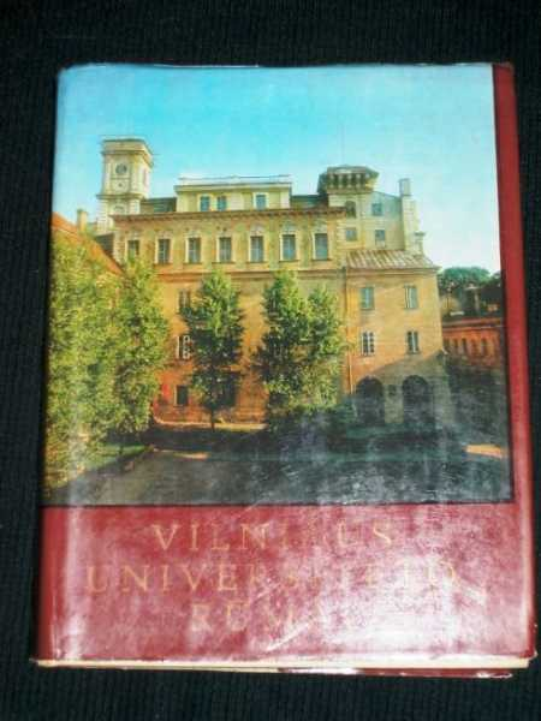 Vilniaus Universiteto Rumai, Various Authors