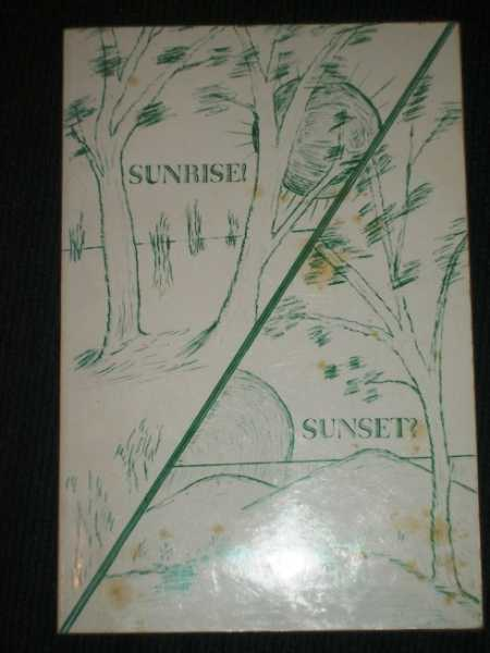 Sunrise! Sunset?, Mason, Lillian C.
