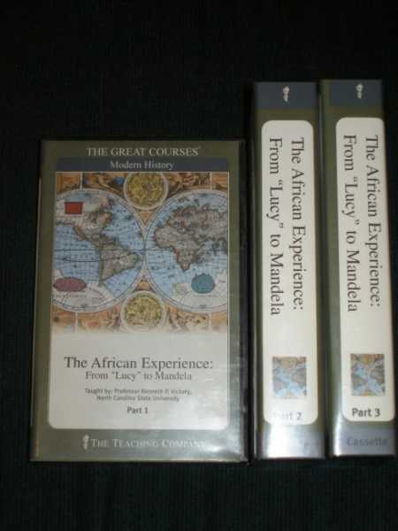 "African Experience, The: From ""Lucy"" to Mandela [Cassettes], Vickery, Kenneth P."