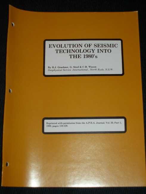 Evolution of Seismic Technology into the 1980's, Graebner, R. J.; Steel, G.; Wason, C. B.