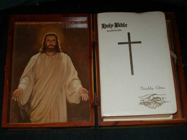 Holy Bible, Friendship Edition (New American Bible - Catholic), God