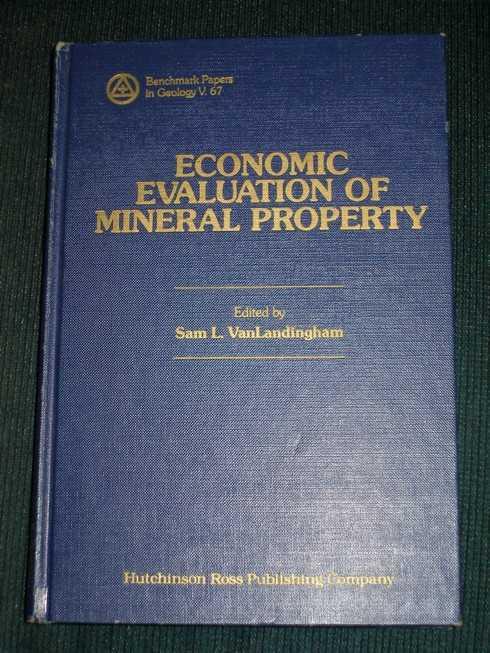 Economic Evaluation of Mineral Property, VanLandingham, Sam L.