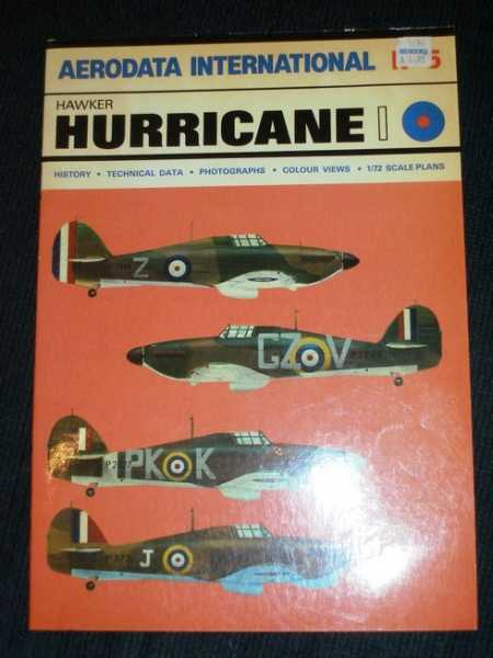 Aerodata International No. 5 - Hawker Hurricane 1, Moyes, Phillip J. R.