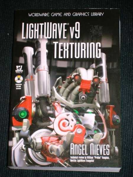 LightWave v9 Texturing, Nieves, Angel