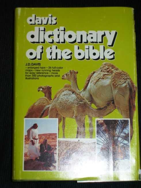 Davis Dictionary of the Bible, Davis, J. D.