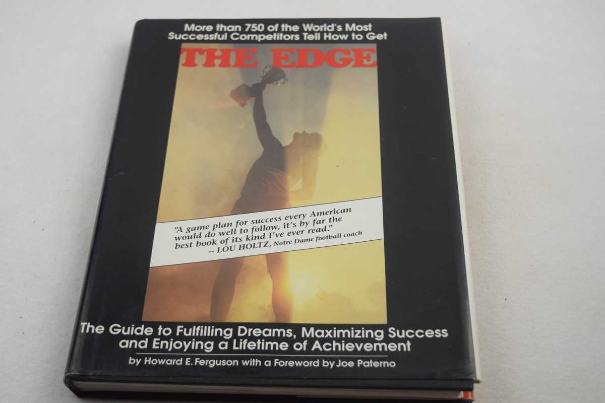 Image for Edge, The:  The Guide to Fulfilling Dreams, Maximizing Success and Enjoying a Lifetime of Achievement