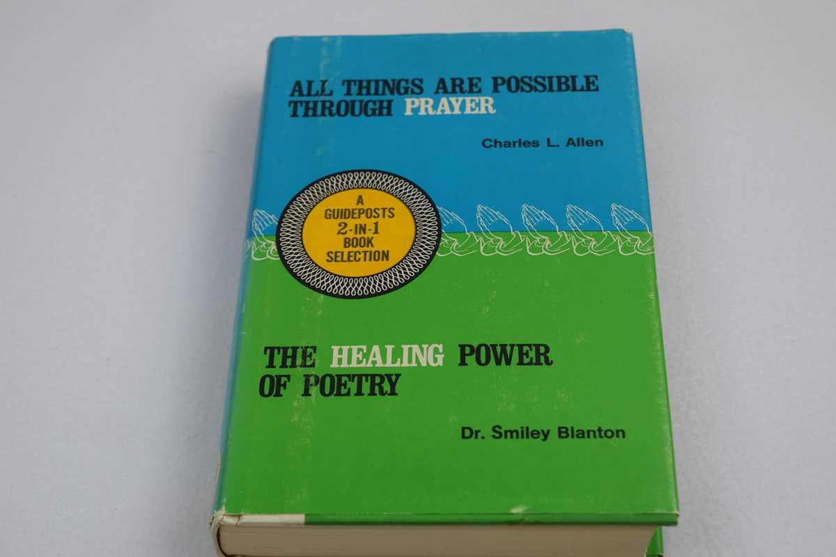 Image for All Things are Possible Through Prayer/Healing Power of Poetry, The