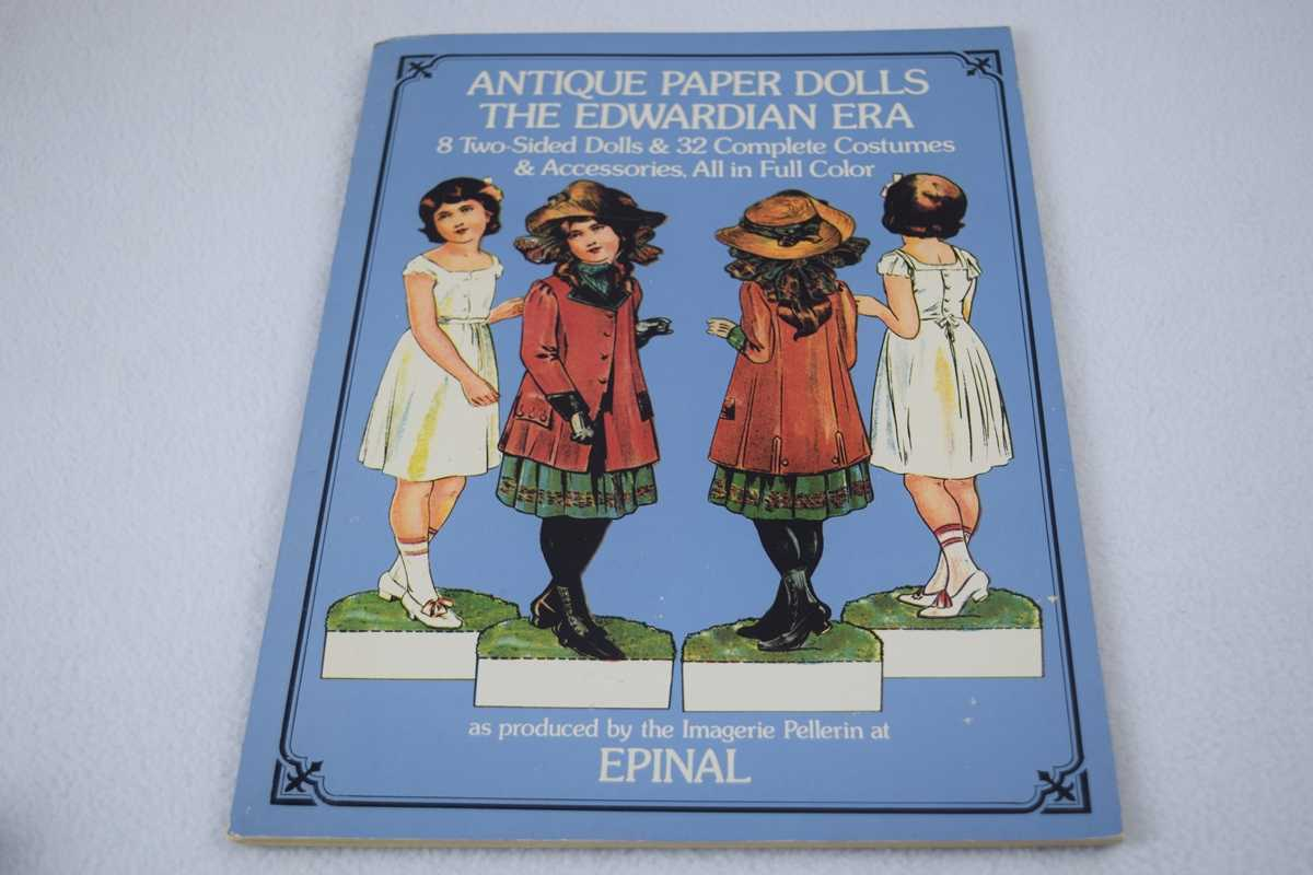 Image for Antique Paper Dolls: The Edwardian Era - Uncut
