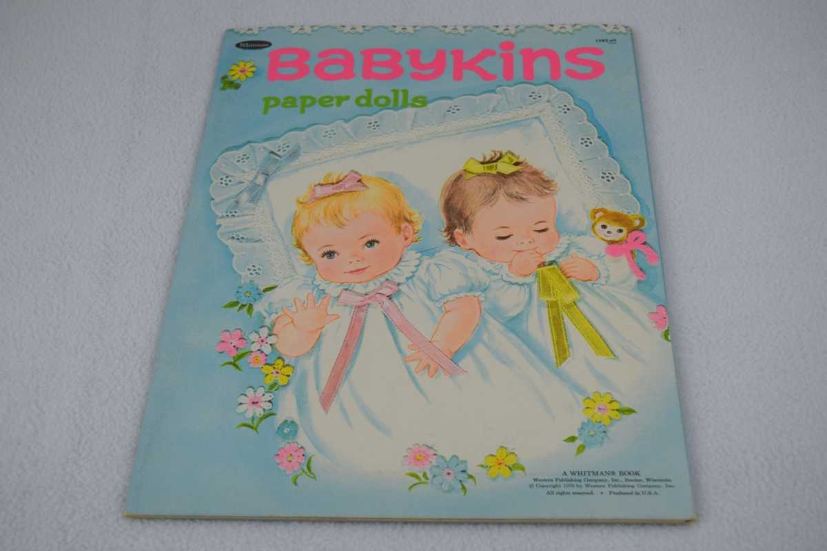 Image for Babykins Paper Dolls (#1982:69) - Uncut