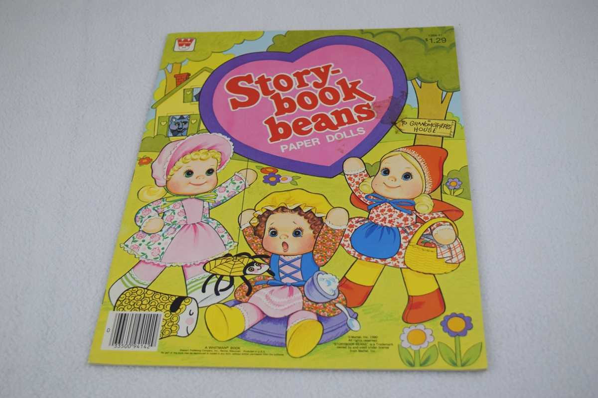 Image for Storybook Beans Paper Dolls (1984-41) - Uncut (#1984-41)