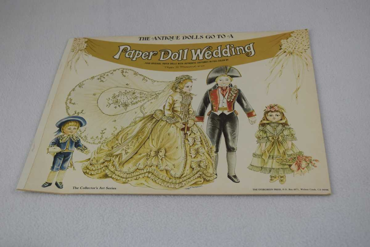 Image for Antique Dolls Go To a Paper Doll Wedding (Collector's Art Series 5313) - Uncut