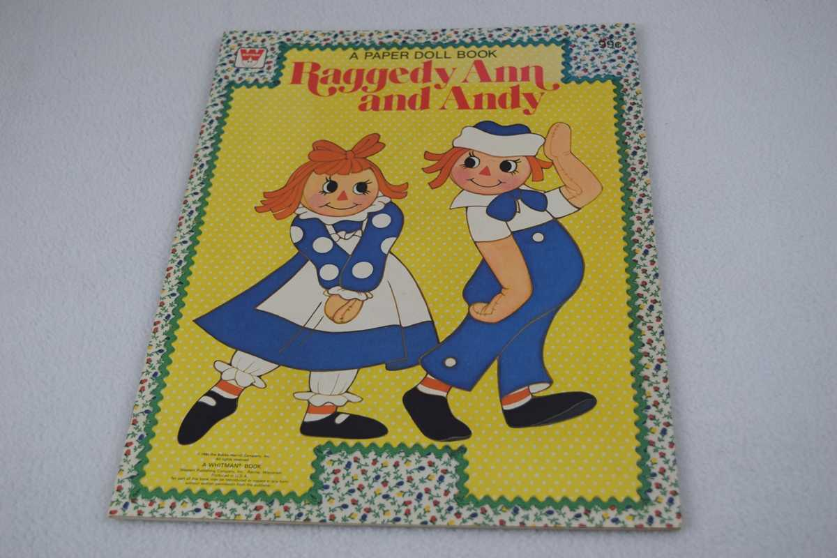 Image for Raggedy Ann and Andy - Uncut (#1887-32 A Paper Doll Playbook)