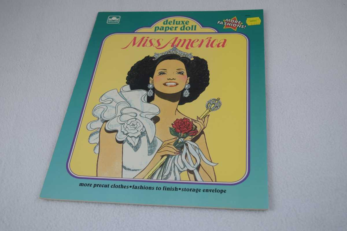 Image for Miss America Deluxe Paper Doll - Uncut (Golden Book #1693)