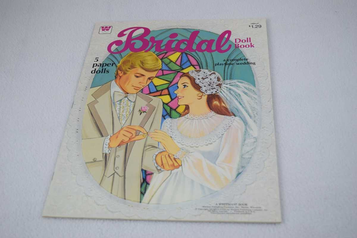 Image for Bridal Doll Book:  A Complete Playtime Wedding - Uncut (5 Paper Dolls #1985-41)