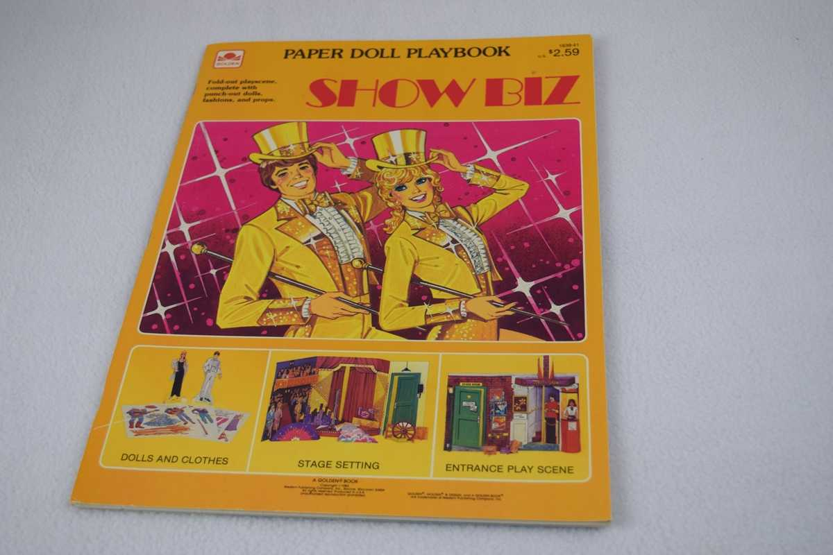 Image for Show Biz: A Paper Doll Playbook - Uncut (#1839-41)