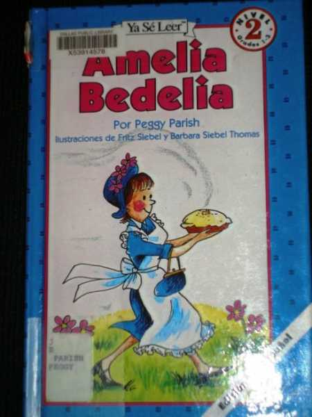 Amelia Bedelia (Spanish), Parish, Peggy