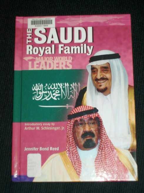 Saudi Royal Family, The (Major World Leaders), Reed, Jennifer Bond