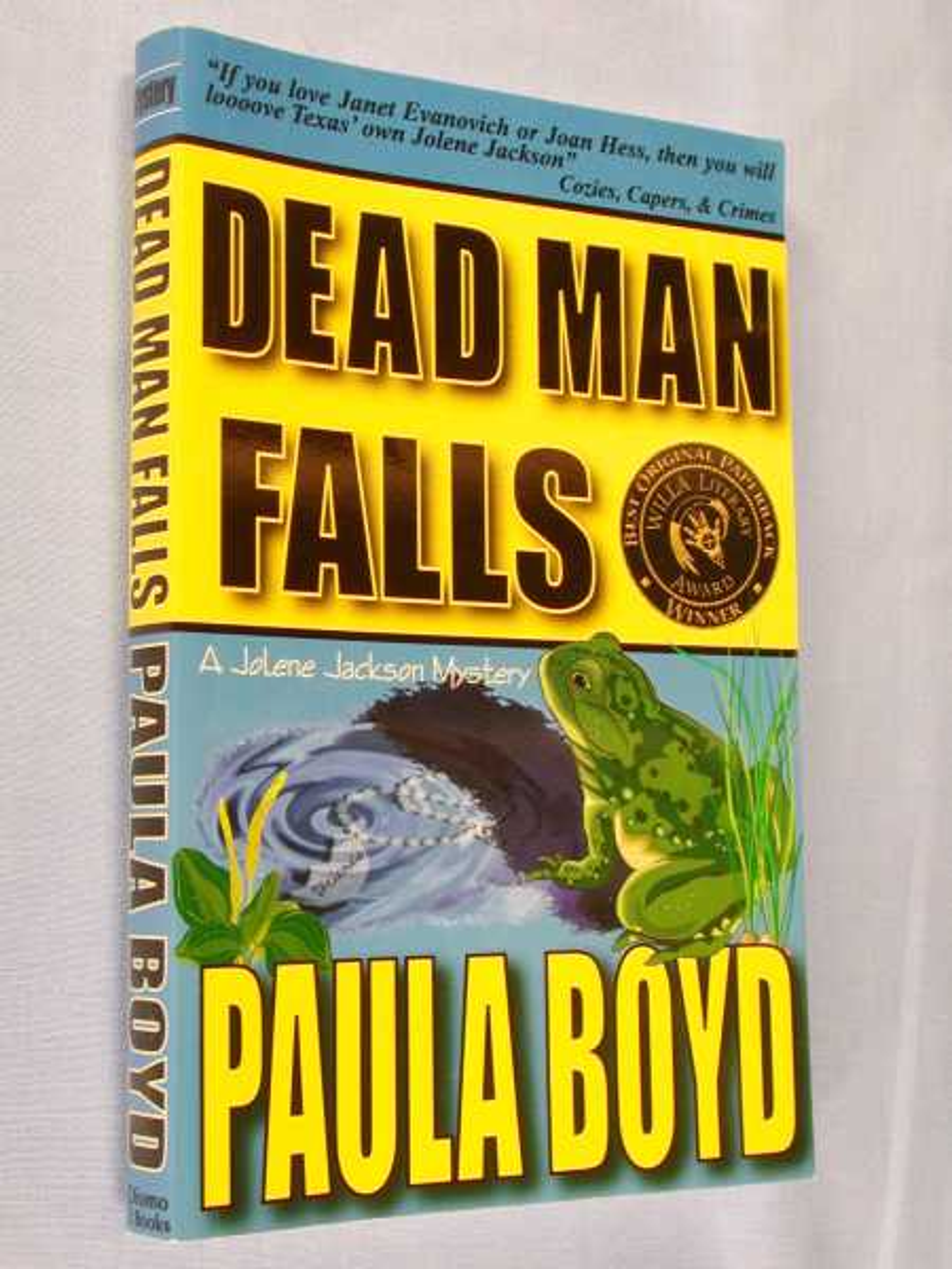 Dead Man Falls (Jolene Jackson Mystery Ser., Vol. 2), Boyd, Paula