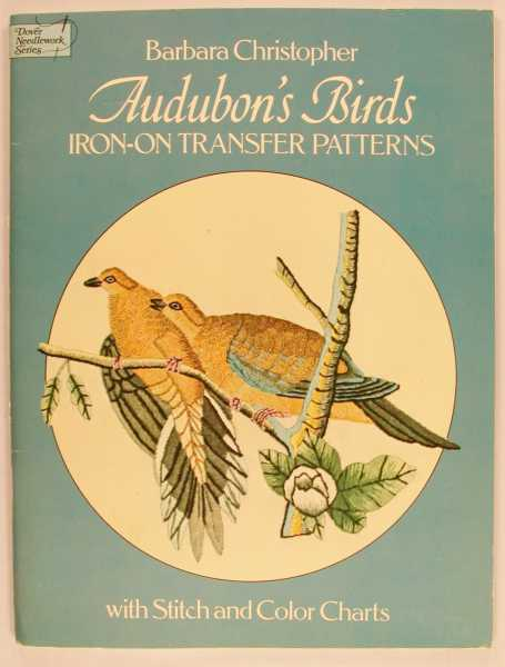 Audubon's Birds Iron-On Transfer Patterns, Christopher, Barbara