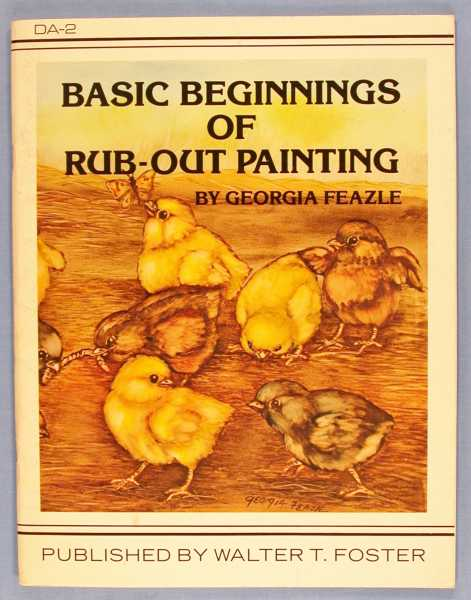 Basic Beginnings of Rub-Out Painting, Feazle, Georgia