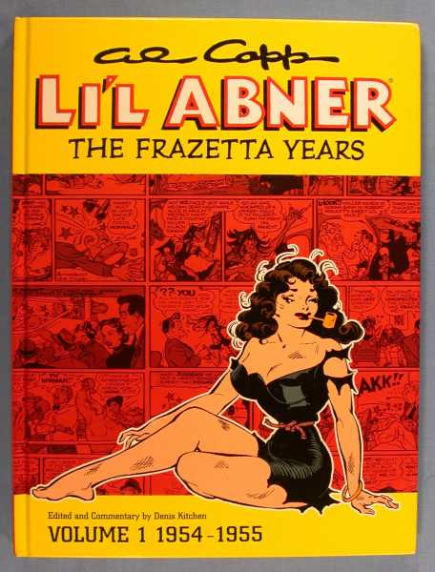Al Capp's Li'l Abner: The Frazetta Years, Volume 1 1954-55, Frazetta, Frank; Denis Kitchen (editor, commentator)