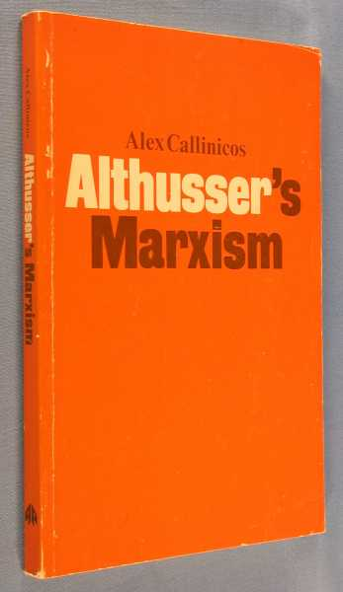 Althusser's Marxism, Callinicos, Alex