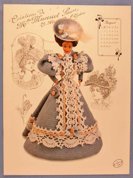 Annie's Calendar Bed Doll Society - The 1994 Collector's Series (The Gibson Girl Collection of the Gay '90's), Potter, Annie