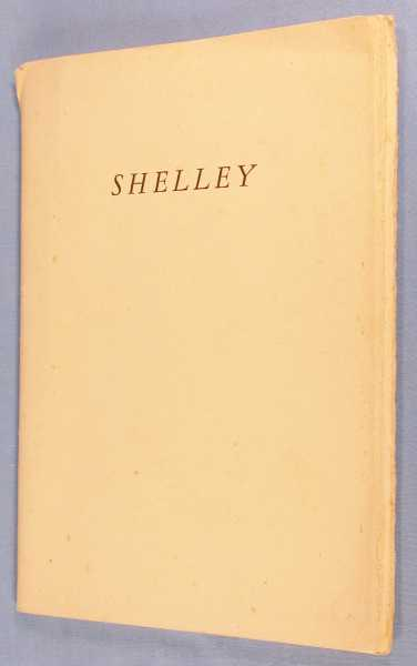 An Account of An Exhibition of Books and Manuscripts of Percy Bysshe Shelley: With Something of Their Literary History, Their Present Condition and Their Provenance, The Library of the University of Texas