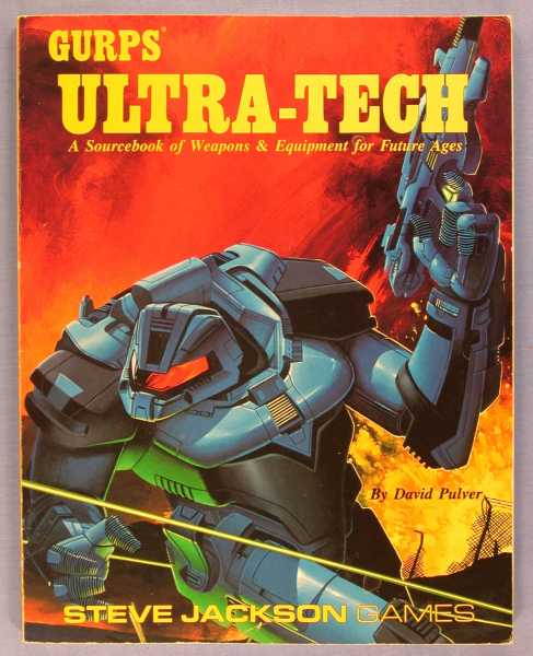 GURPS Ultra-Tech: A Sourcebook of Weapons & Equipment for Future Ages, Pulver, David L.