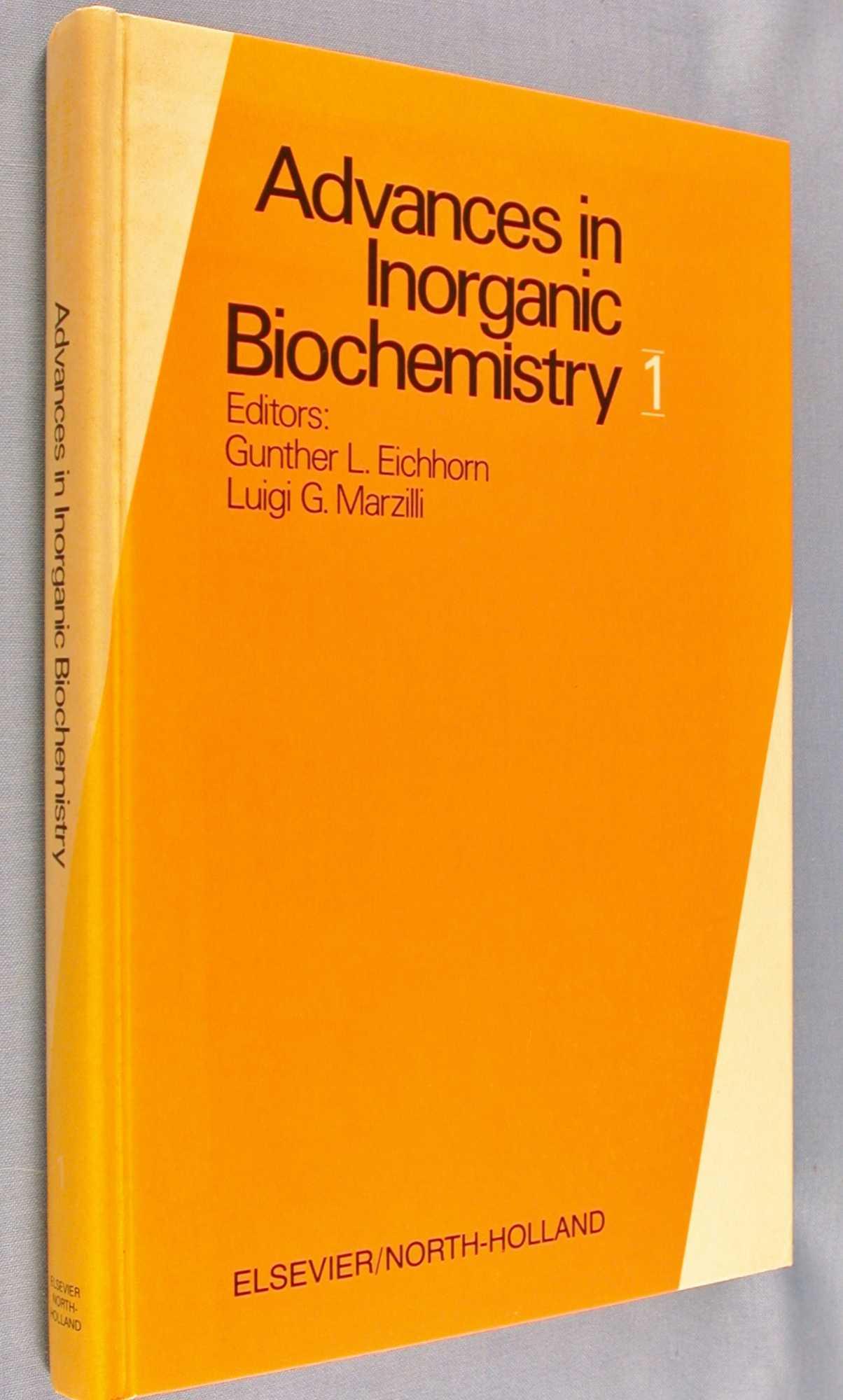 Advances in Inorganic Biochemistry 1, Eichhorn, Gunther L.; Luigi G. Marzilli (editors)