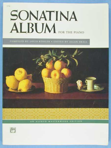 Sonatina Album: A collection of Favorite Sonatinas, Rondos and Other Pieces - for the Piano (Revised Edition), Kohler, Louis (Compiler); Allan Small (editor)