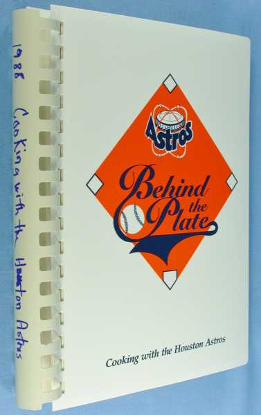 Behind the Plate, Lanier, Mary; 1988 Houston Astros