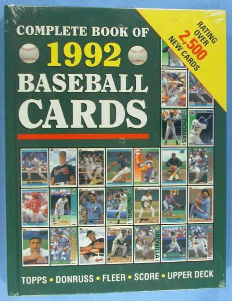 The Complete Book of 1992 Baseball Cards, Owens, Tom
