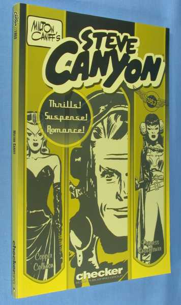 Milton Caniff's Steve Canyon - 1953, Caniff, Milton