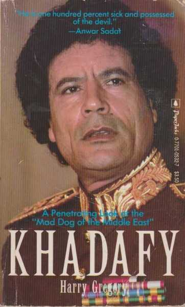Khadafy, Harry Gregory