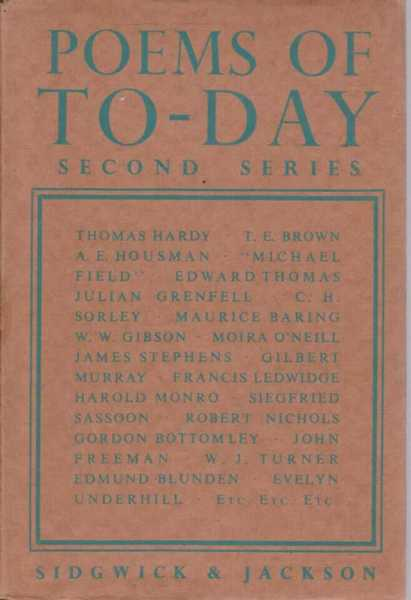 Poems of Today Second Series, No Author Credited