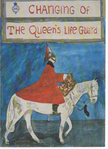 Changing Of The Queen's Life Guard - A Story of The Tin's' and 'Blues and Royals', Margaret Lewthwaite