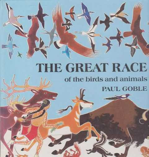 The Great Race of the Birds and Animals, Paul Goble
