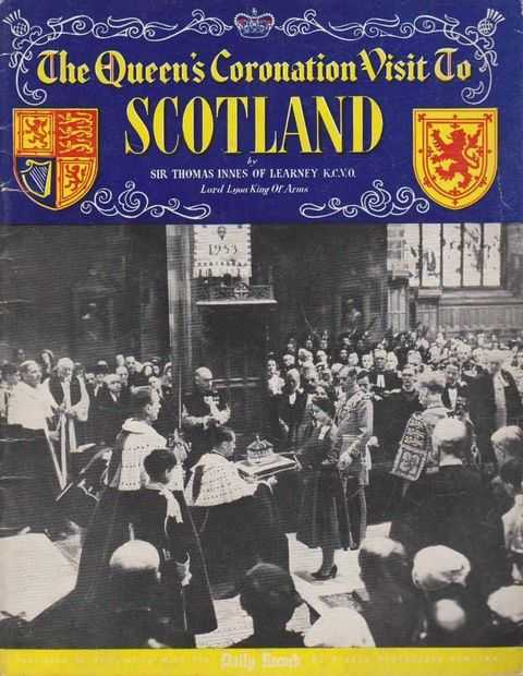 The Queen's Coronation Visit To Scotland, Sir Thomas Innes of Learney - Lord Lyon King Of Arms