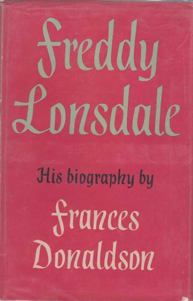 Freddy Lonsdale, Frances Donaldson