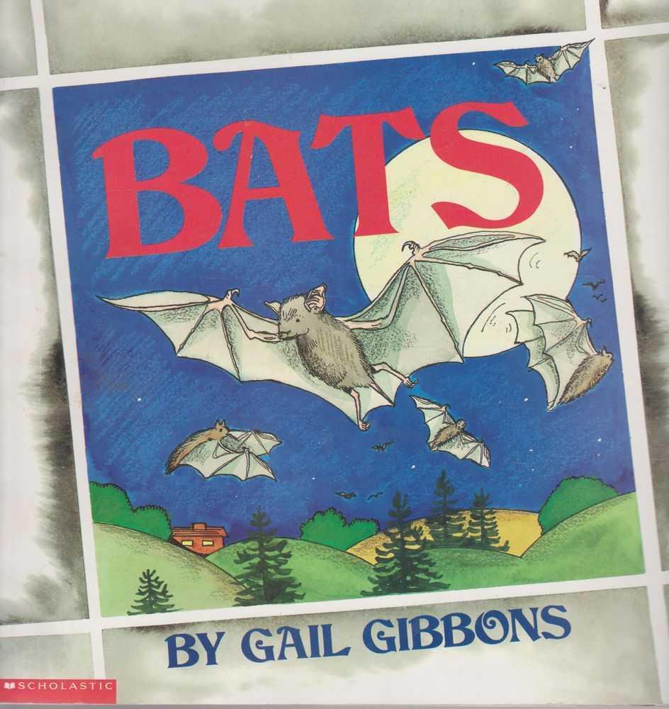 Bats, Gail Gibbons