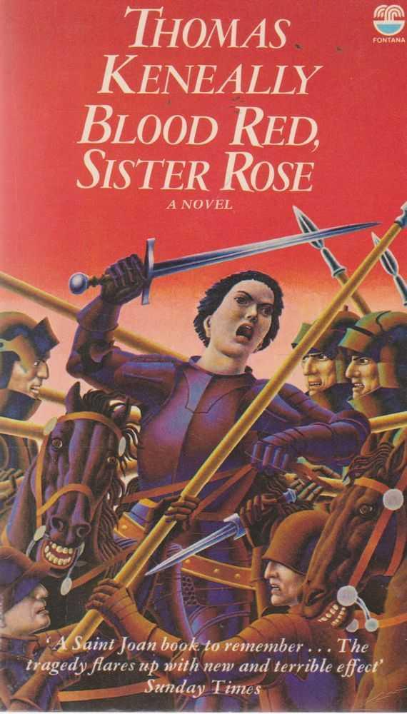 Blood Red,Sister Rose, Thomas Keneally