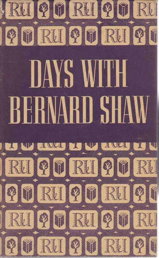 Days with Bernard Shaw, Stephen Winsten
