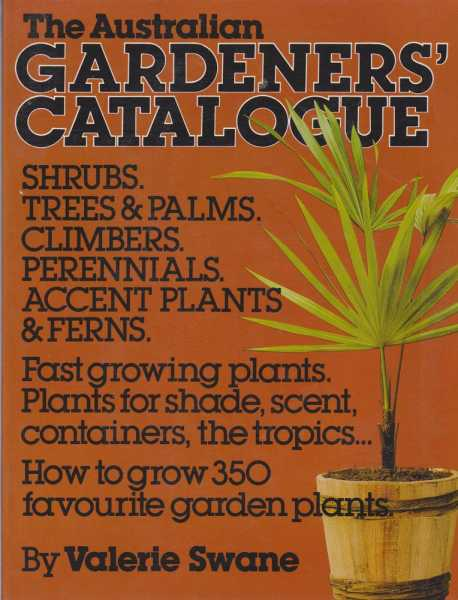 The Australian Gardeners' Catalogue, Valerie Swane